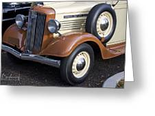 1936 Gmc Pickup Truck 1 Greeting Card
