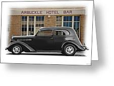 1936 Plymouth Business Coupe II Greeting Card