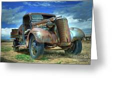 1937 Chevrolet Greeting Card