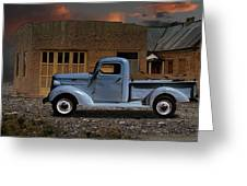 1937 Chevy Pickup Truck Greeting Card