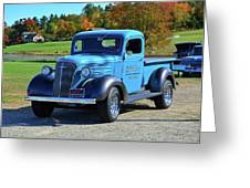 1937 Chevy Truck Greeting Card