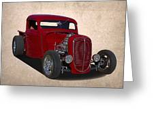 1937 Ford Truck Greeting Card