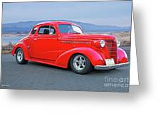 1938 Chevrolet 'all Business. Coupe Greeting Card