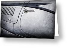 1938 Talbot-lago 150c Ss Figoni And Falaschi Cabriolet Side Door Handle -1511ac Greeting Card