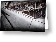 1938 Talbot-lago 150c Ss Figoni And Falaschi Cabriolet Steering Wheel -1561ac Greeting Card
