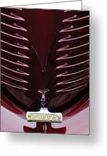 1938 Willys Grille Greeting Card