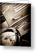 1939 Bugatti T57c Galibier -0298s Greeting Card