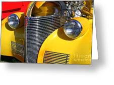1939 Chevy Greeting Card