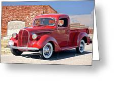 1939 Ford 'stake Bed' Pickup Truck I Greeting Card