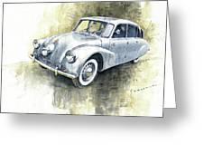 1939 Tatra T87  Greeting Card