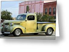 1940 Dodge Pickup Greeting Card