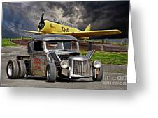 1940 Ford Rat Rod Pickup IIi Greeting Card