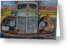 1940 International Harvester Truck Greeting Card