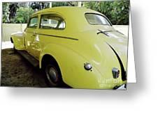 1940 Oldsmobile Greeting Card