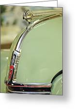 1940 Oldsmobile Hood Ornament 2 Greeting Card
