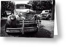 1940's Chevrolet Truck Greeting Card