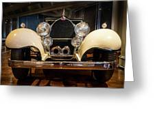 1941 Bugatti Type 41 Royale At The Henry Ford Museum Greeting Card