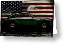 1941 Buick Century Tribute Greeting Card