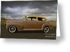 1941 Chevy Special Deluxe Greeting Card