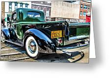 1941 Chevy Truck Greeting Card