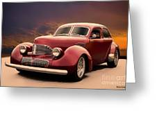1941 Hollywood Graham Sedan I Greeting Card
