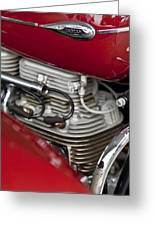 1941 Indian 4 Cyl Motorcycle Greeting Card