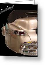1941 Lincoln Continental  Greeting Card