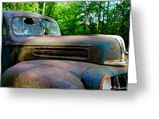 1942 Ford Greeting Card