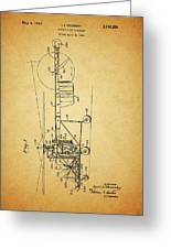 1943 Helicopter Patent Greeting Card