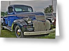 1946 Chevy Greeting Card