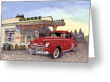 1946 Ford Deluxe Coupe Greeting Card