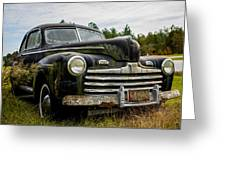 1946 Ford Model A Greeting Card