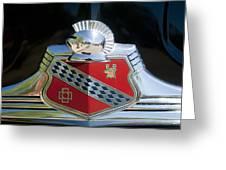 1947 Buick Emblem 2 Greeting Card