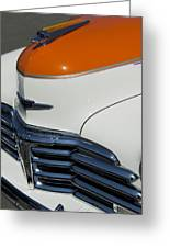 1947 Chevrolet Deluxe Front End Greeting Card