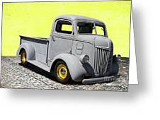 1947 Ford Cab Over Engine Truck Greeting Card