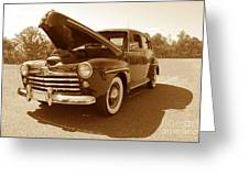 1947 Ford Greeting Card