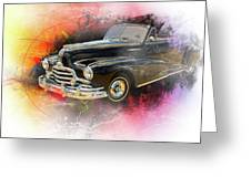 1947 Pontiac Convertible Photograph 5544.08 Greeting Card