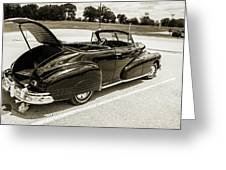 1947 Pontiac Convertible Photograph 5544.64 Greeting Card