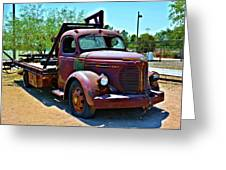 1947 Reo Speed Wagon Truck Greeting Card