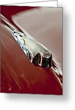 1948 Crosley Convertible Hood Ornament Greeting Card