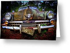 1948 Studebaker Champion Greeting Card