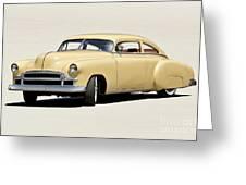 1949 Chevrolet Custom Fleetline Sedan II Greeting Card