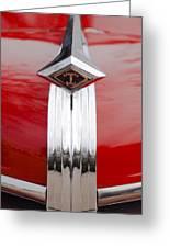 1949 Diamond T Truck Hood Ornament Greeting Card