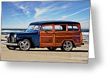 1949 Willys Woody Wagon I Greeting Card