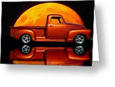 1950 Chevy Pickup Poster Greeting Card