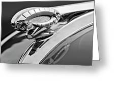 1950 Dodge Ram Hood Ornament Greeting Card