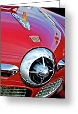 1950 Studebaker Champion Hood Ornament Greeting Card