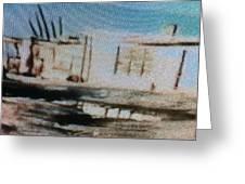 1950's - At The Hopi Village Greeting Card