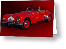 1951 Allard K2 Roadster Greeting Card