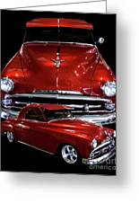 1951 Business Coupe Greeting Card